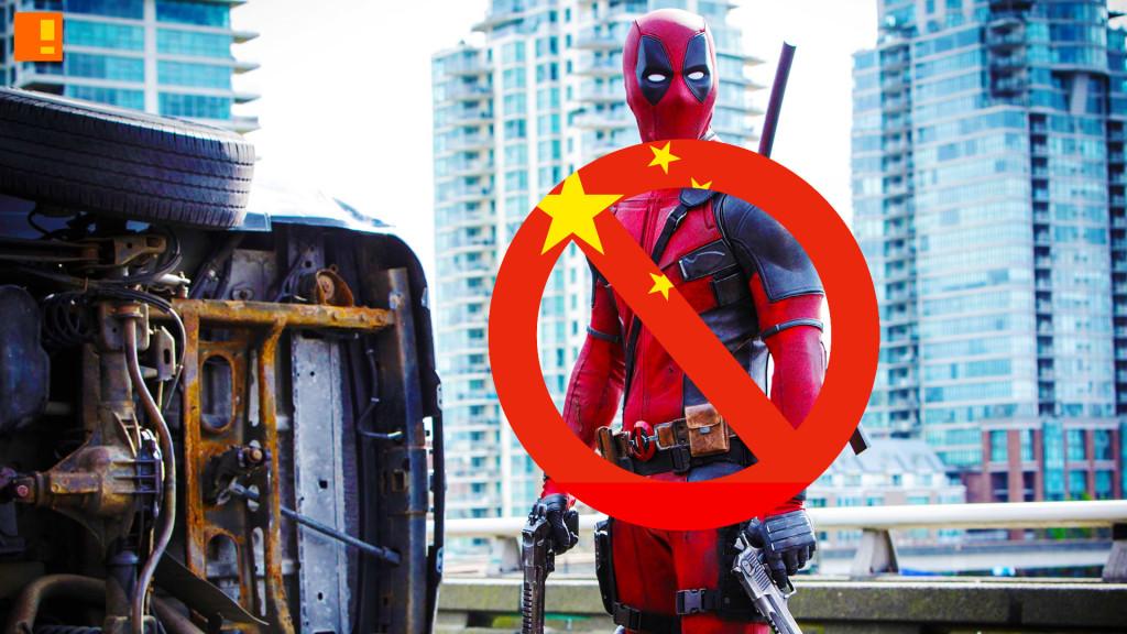 china bans deadpool. 20th century fox. marvel. the action pixel. @theactionpixel
