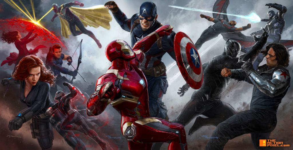 captain america civil war concept art. the action pixel. @theactionpixel
