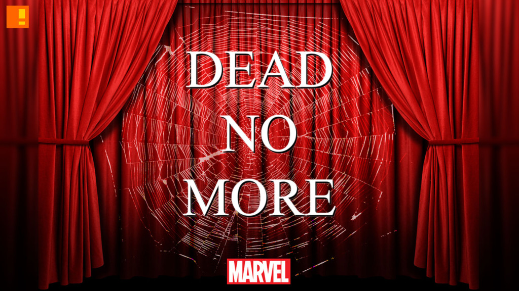 dead no more. marvel. the action pixel. @theactionpixel