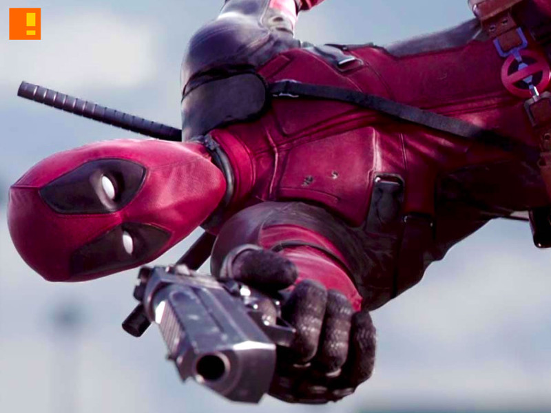 deadpool. the action pixel. @theactionpixel. marvel. 20th century fox.