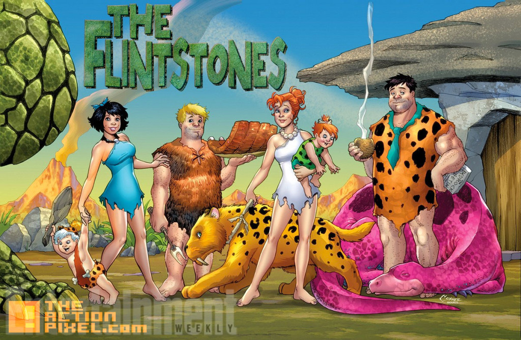 the flinstones. dc comics. hanna barbara. the action pixel. @theactionpixel