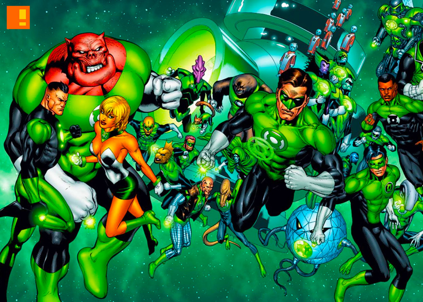 green lantern corps. dc comics. the action pixel. @theactionpixel