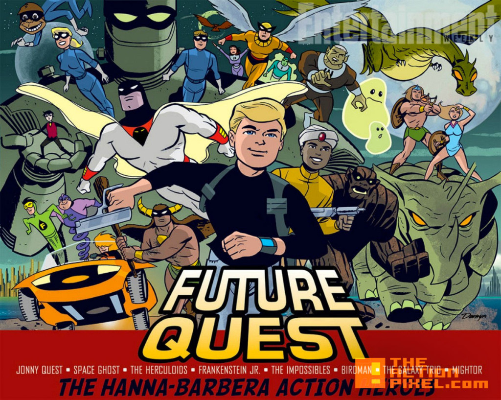Future Quest art by Darwyn Cooke.dc comics. hanna barbara. the action pixel. @theactionpixel