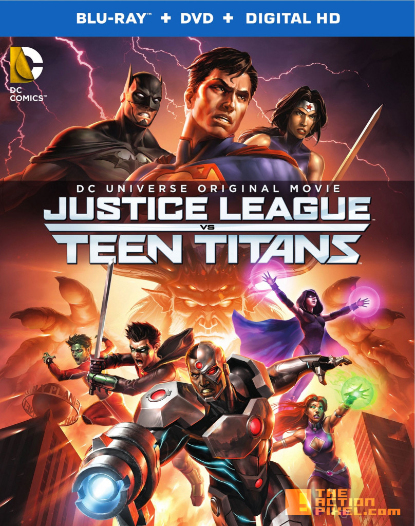 Justice League Vs Teen Titans. wb animation. dc comics. the action pixel. @theactionpixel