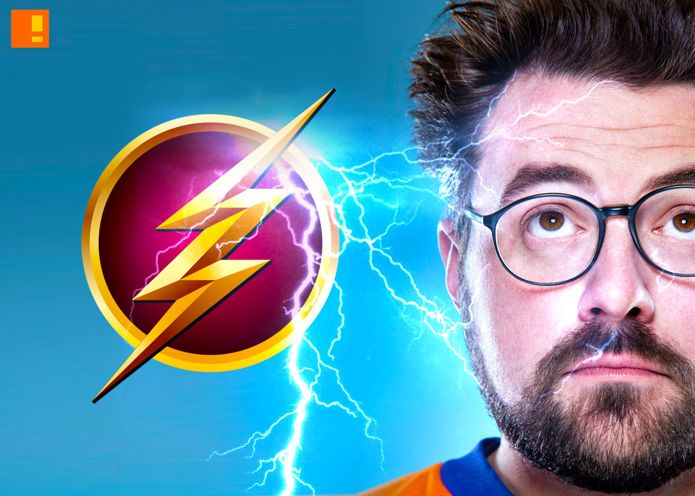 kevin smith the flash. the cw network. the action pixel. entertainment on tap. @theactionpixel