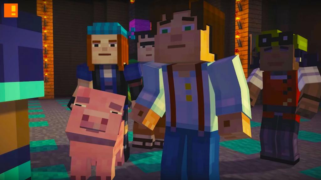 Minecraft: Story Mode for Wii U Launch Trailer. telltale games. mojang. nintendo wiiu. the action pixel. @theactionpixel. #EntertainmentOnTAP
