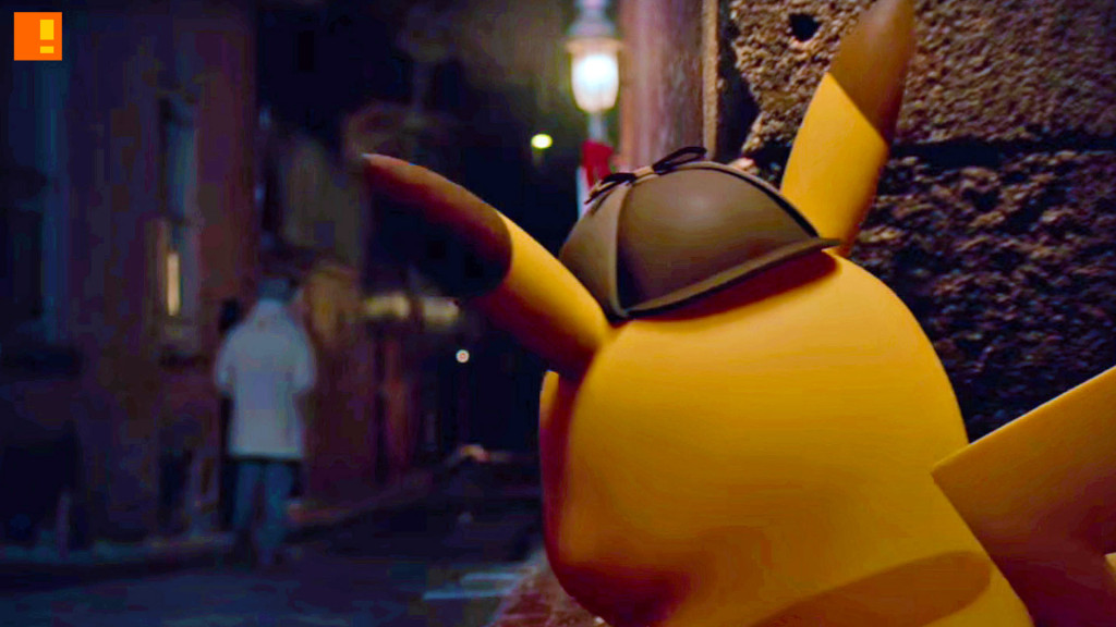 Famous Detective Pikachu: The Birth of a New Partnership. nintendo. the action pixel. @theactionpixel