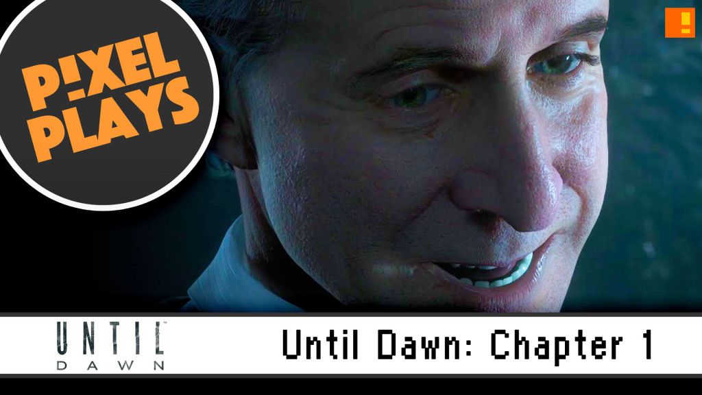 "Pixel Plays | ""Until Dawn"": Chapter 1 - Friendship. the action pixel. @theactionpixel #pixelplays #Entertainmentontap"