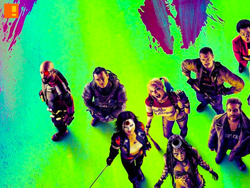 suicide squad Banner. suicide squad. dc comics. warner bros. pictures. the action pixel. @theactionpixel. #EntertainmentOnTAP