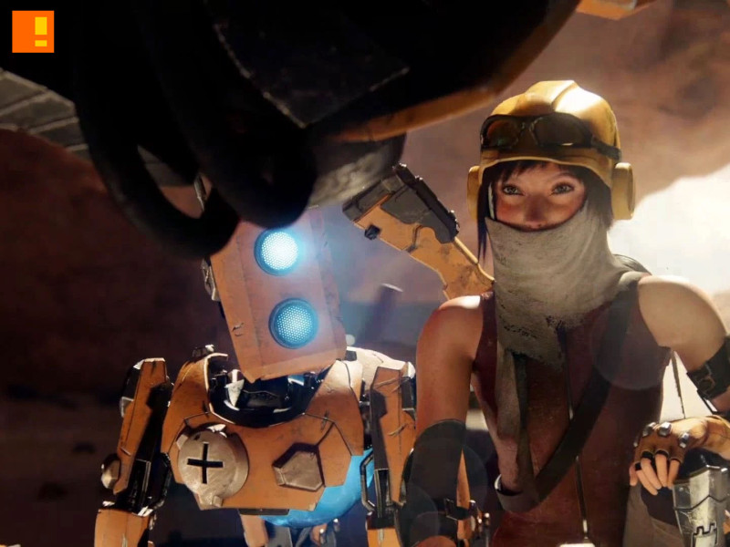 recore. Comcept. Armature Studios. xbox. the action pixel. @theactionpixel