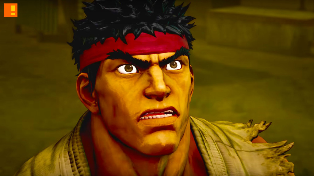 ryu. street fighter 5. capcom. the action pixel. @theactionpixel