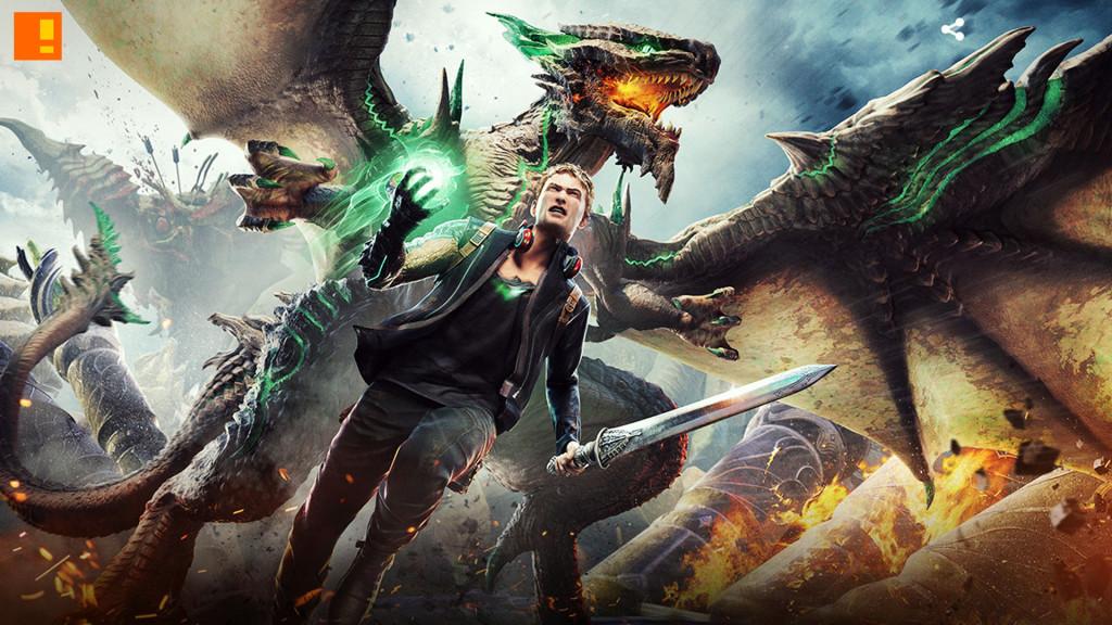 scalebound. xbox. platinum games. the action pixel. @theactionpixel. #Entertainmentontap
