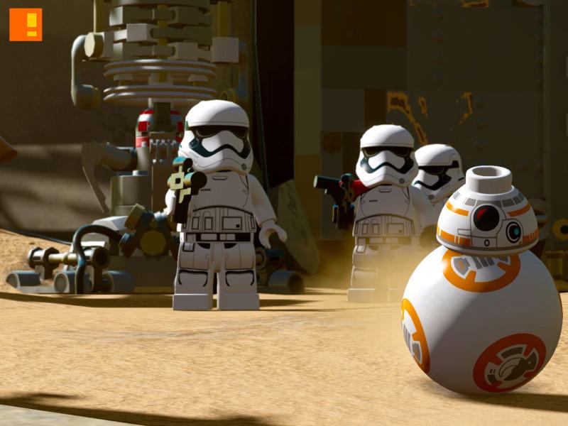 lego star wars: the force awakens. the action pixel. disney. lucasfilm. entertainment on tap. @theactionpixel. tt games