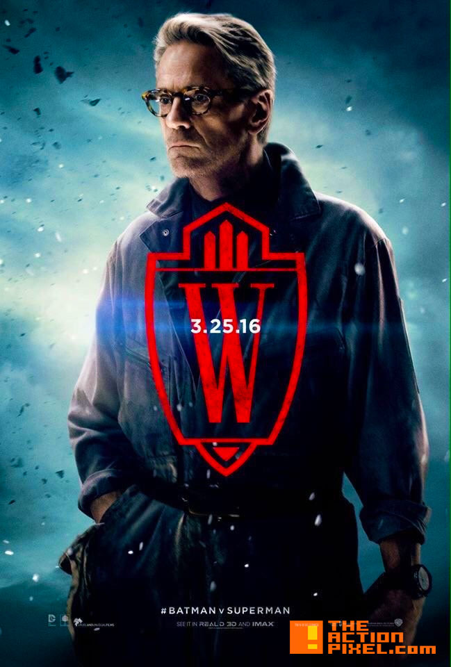 alfred poster. batman v superman: dawn of justice. @theactionpixel. the action pixel
