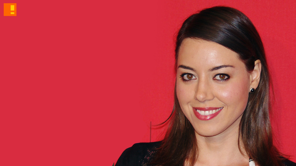 aubrey plaza. the action pixel. @theactionpixel