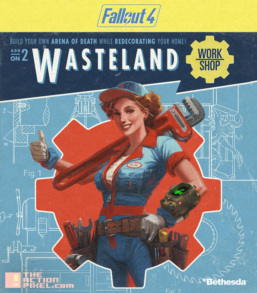 fallout 4 wasteland. bethesda. the action pixel. @theactionpixel