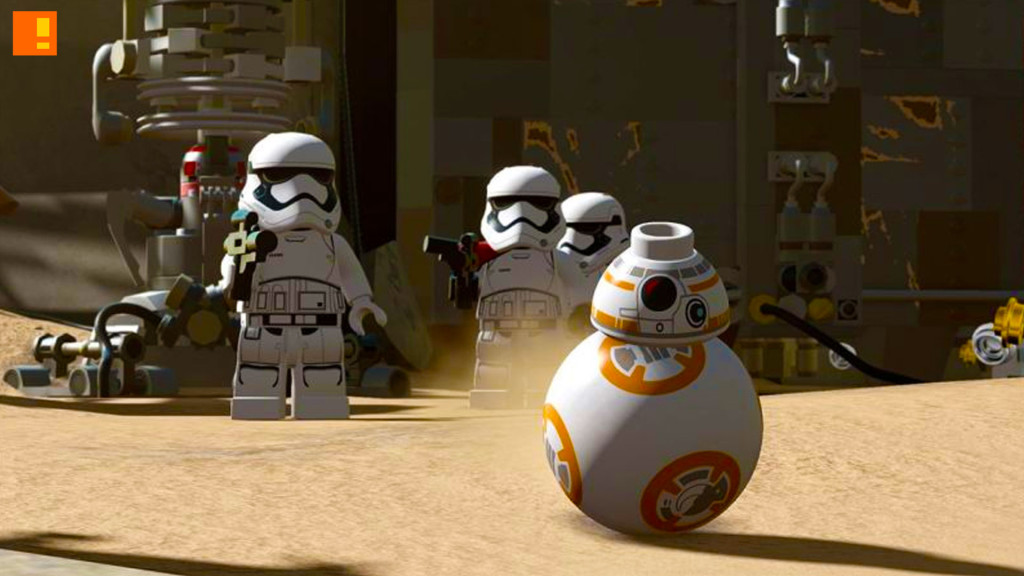 lego star wars: the force awakens. the action pixel. disney. lucasfilm. entertainment on tap. @theactionpixel