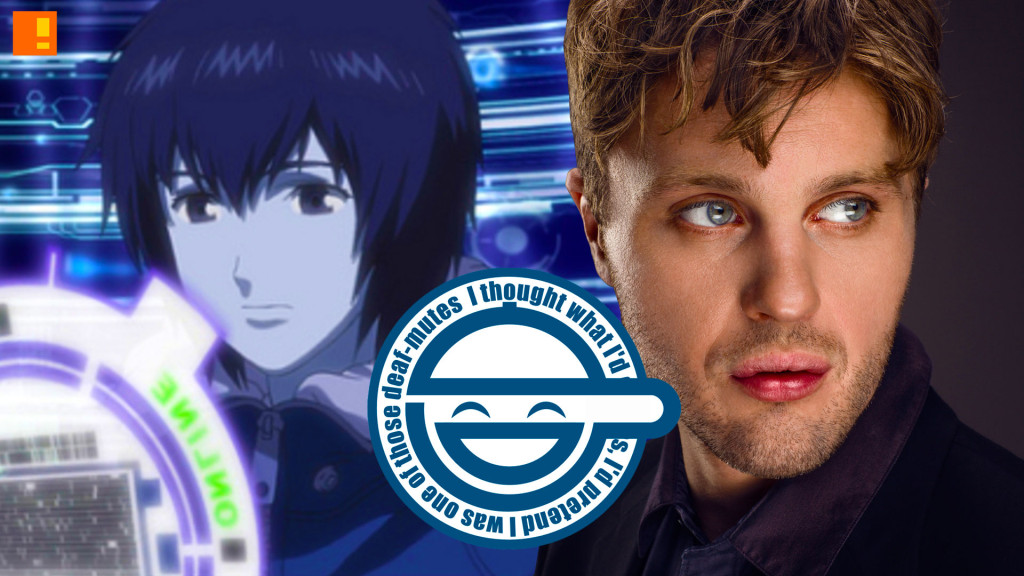 michael pitt .the laughing man. gits. ghost in the shell. the action pixel. @theactionpixel