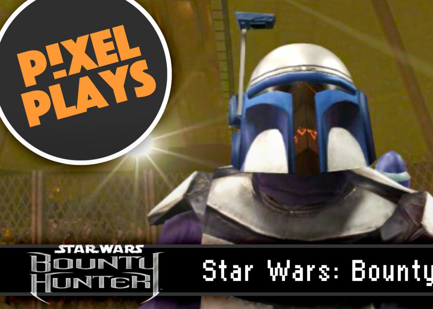 pixel plays. star wars bounty hunter. the action pixel. @theactionpixel. lucasart