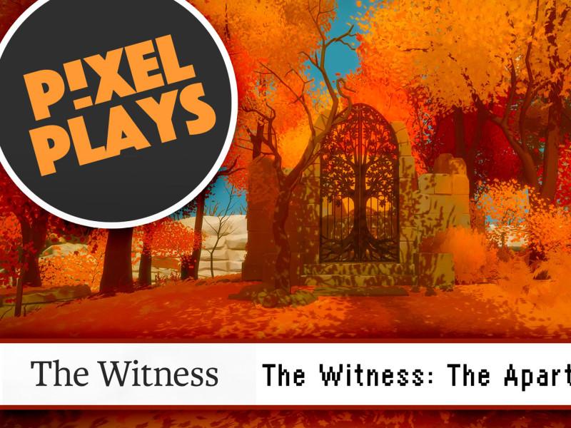 the witness. jonathan blow. the action pixel. @theactionpixel. pixel plays