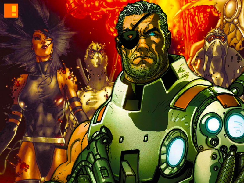 x-force. marvel. the action pixel. @theactionpixel