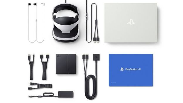 Here's what comes in the Playstation VR kit
