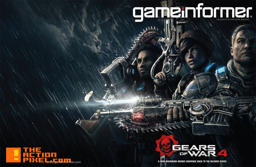 gears of war 4. xbox. microsoft. the action pixel. @theactionpixel