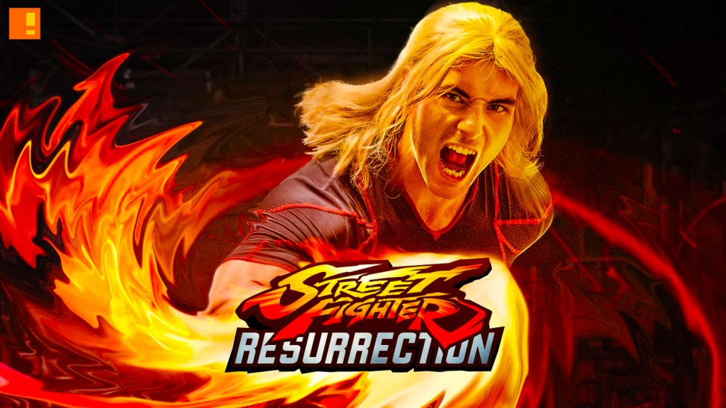 Street fighter resurrection. capcom. machinima. the action pixel. entertainment on tap.