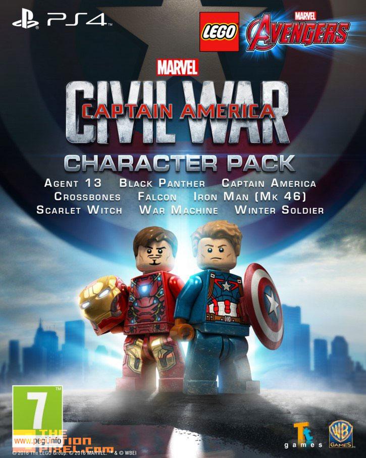 lego marvel avengers captain america civil war character pack. @theactionpixel. the action pixel.