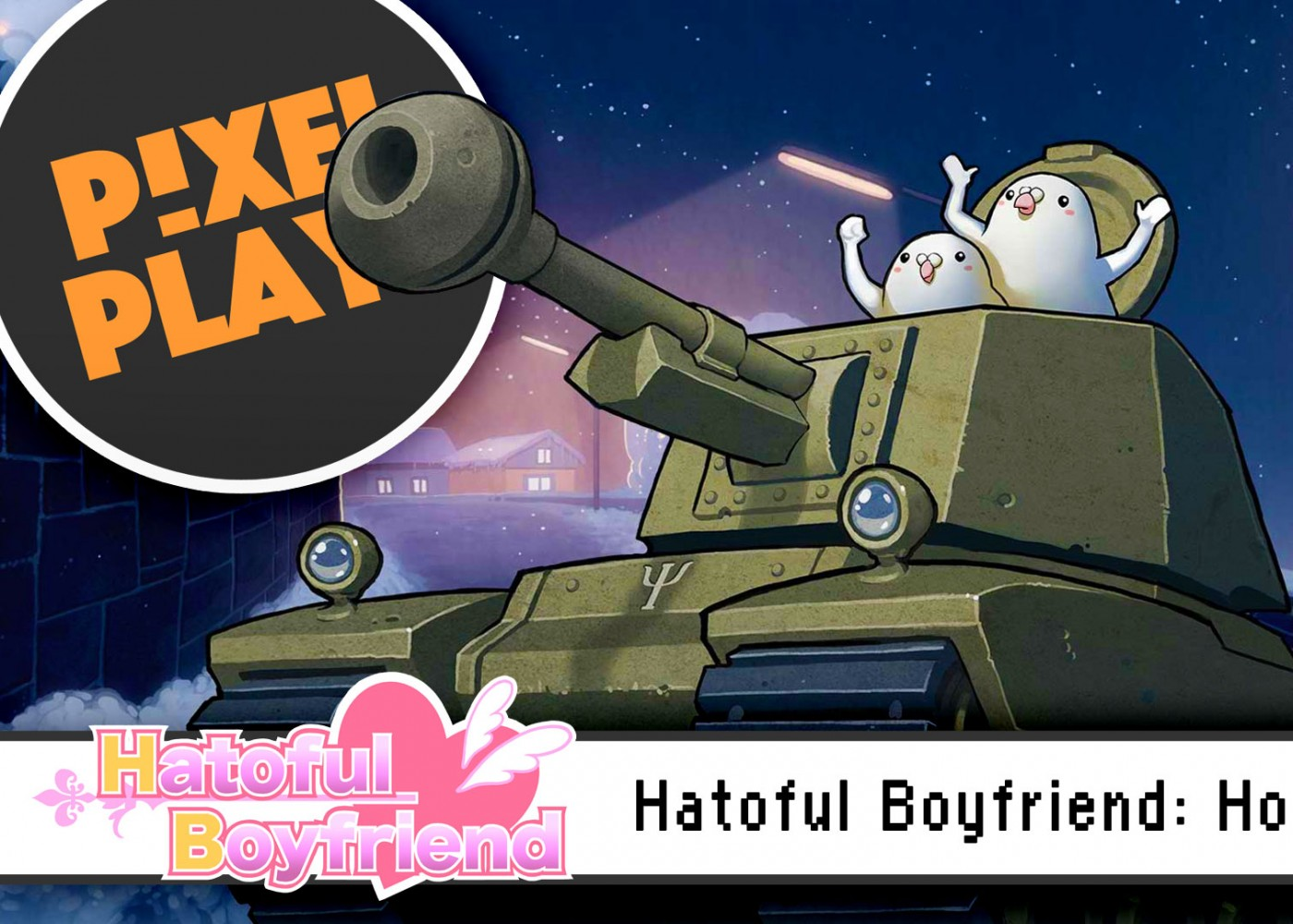 pixel plays. hatoful boyfriend holiday star. the action pixel. @theactionpixel