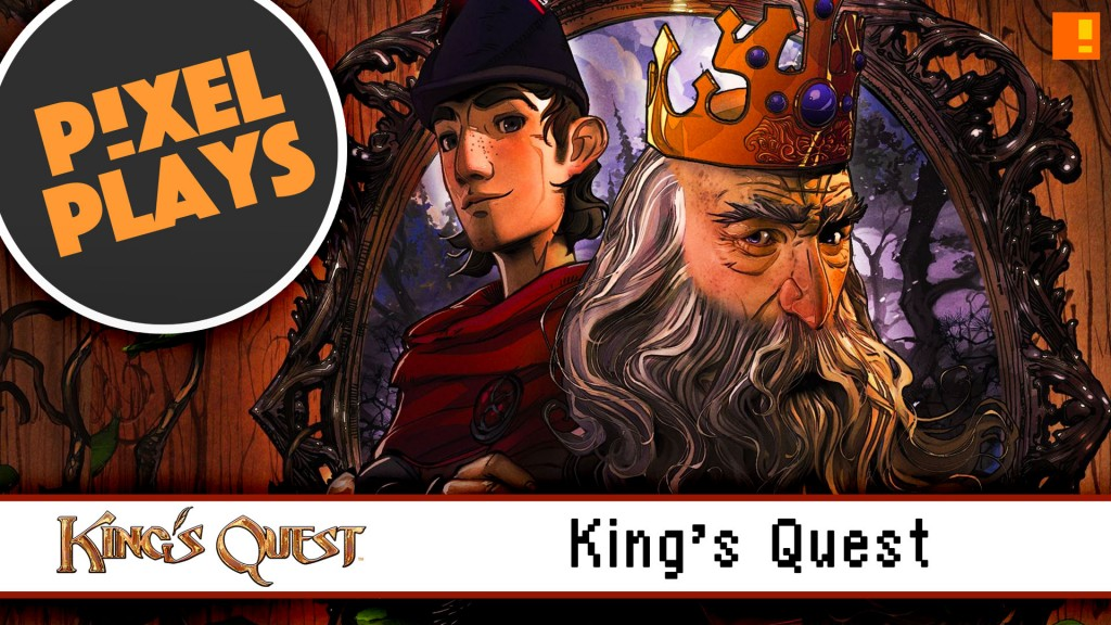 pixel plays. king's quest. sierra. the odd gentlemen. the action pixel. @theactionpixel