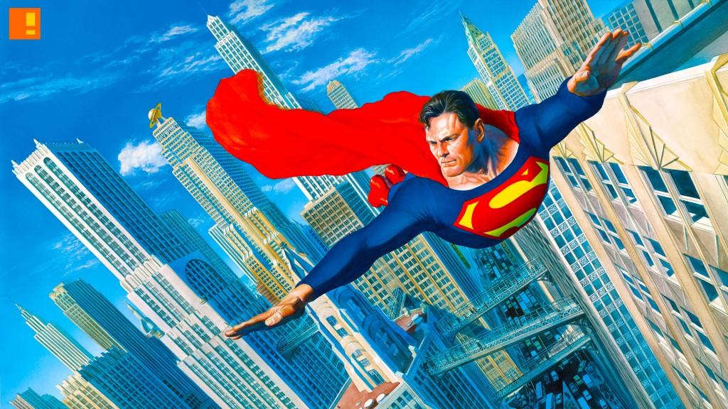 superman. dc comics. alex ross. the action pixel. @theactionpixel
