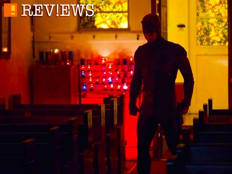 tap review: daredevil. S2 E1. bang. marvel. netflix. the action pixel. @theactionpixel