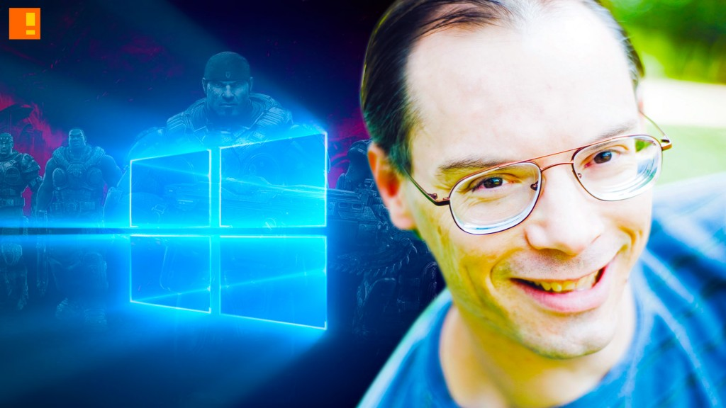 tom sweeney. epic. windows 10. the action pixel. @theactionpixel