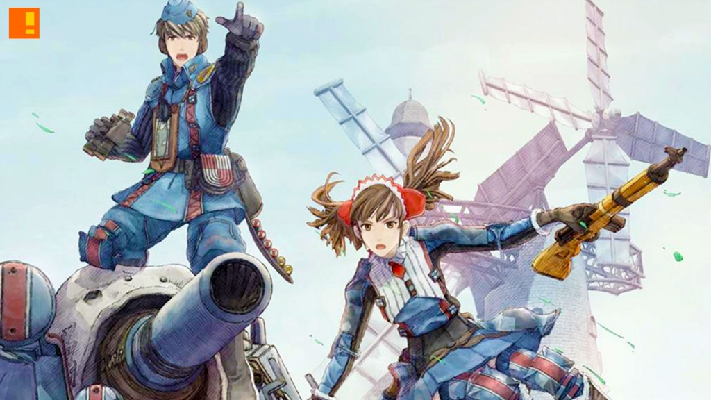 Valkyria Chronicles Remastered. sega. the action pixel. @theactionpixel