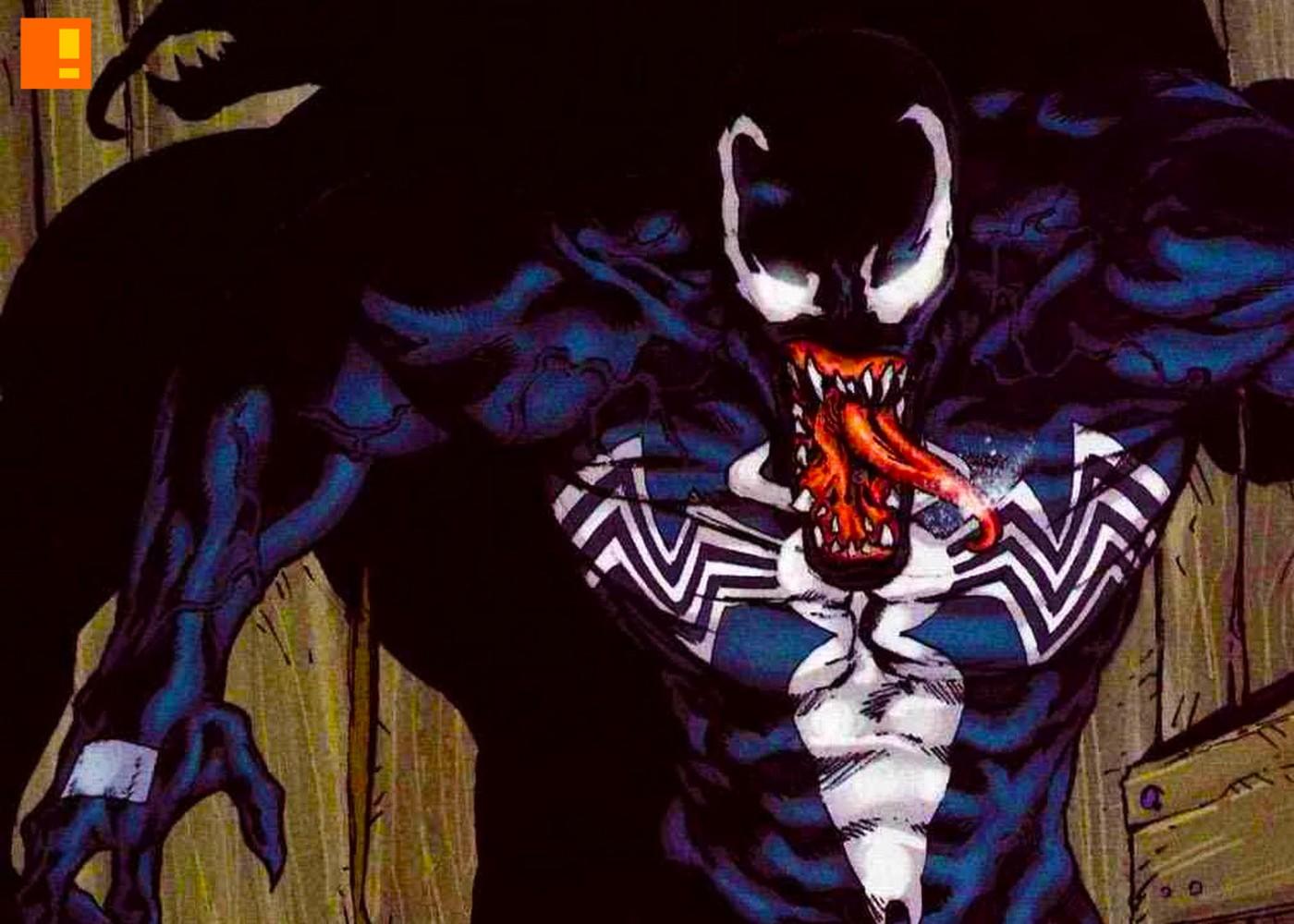 venom. eddie brock. marvel. the action pixel. @theactionpixel