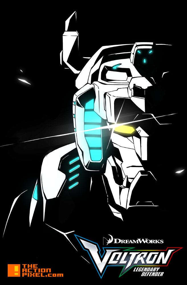 voltron: legendary defender. dreamworks. the action pixel. @theactionpixel. entertainment on tap