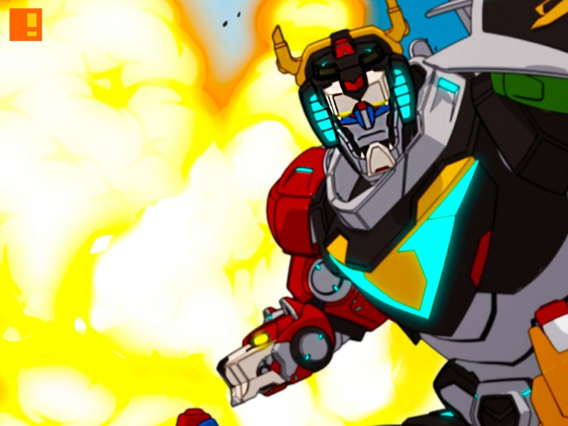 voltron banner. netflix. dreamWorks animation. the action pixel. @theactionpixel