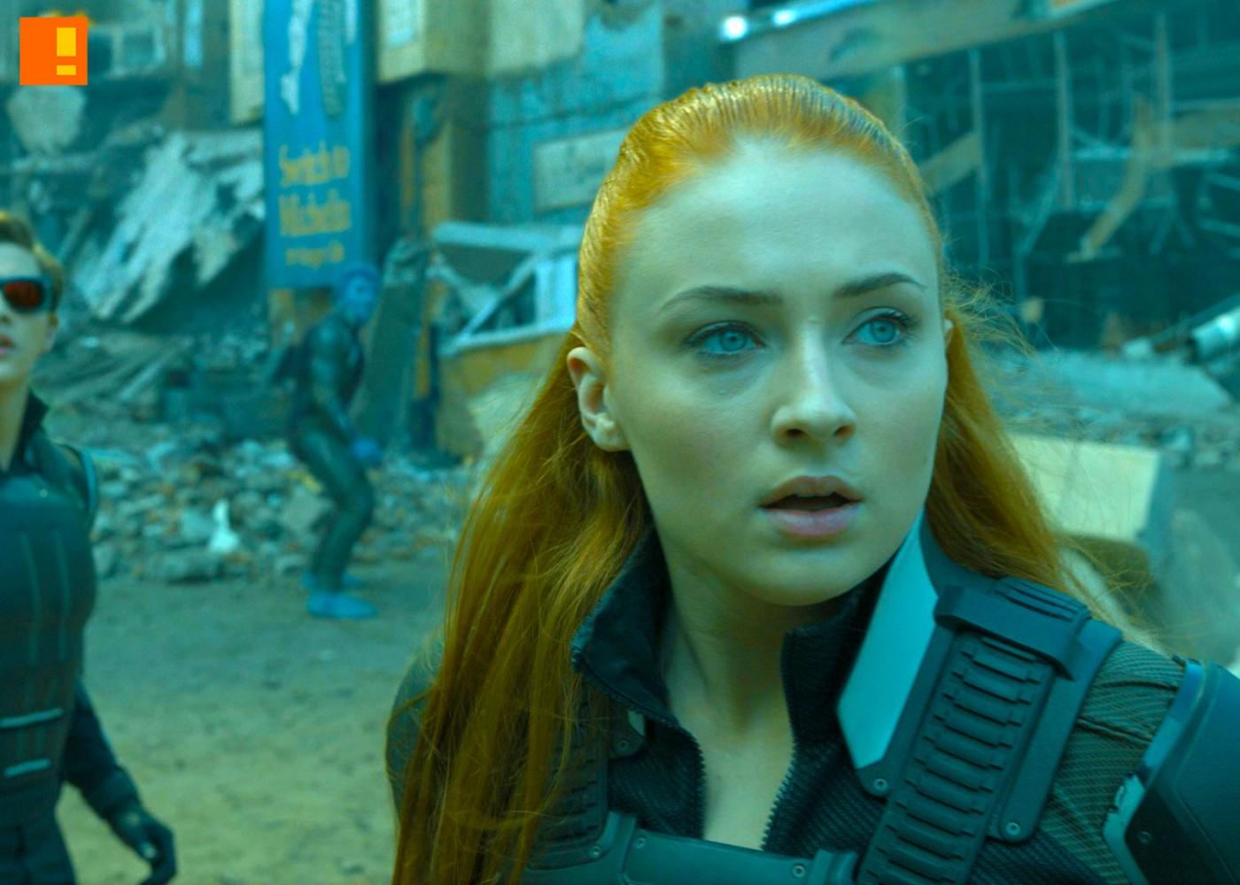 xmen apocalypse Tye Sheridan as Cyclops and Sophie Turner as Jean Grey