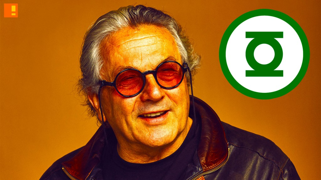 george miller, green lantern, dc comics, the action pixel, hal jordan, mosaic, will, mantra, entertainment on tap,