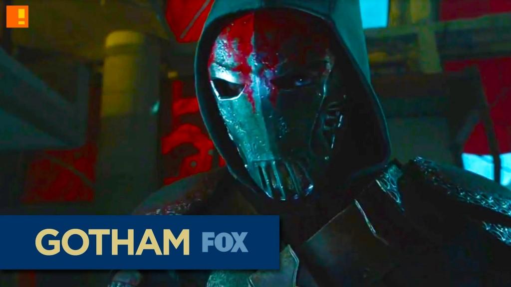 gotham,Fox, azrael, dc comics, wrath, rise of the villains, bruce wayne, gordon,