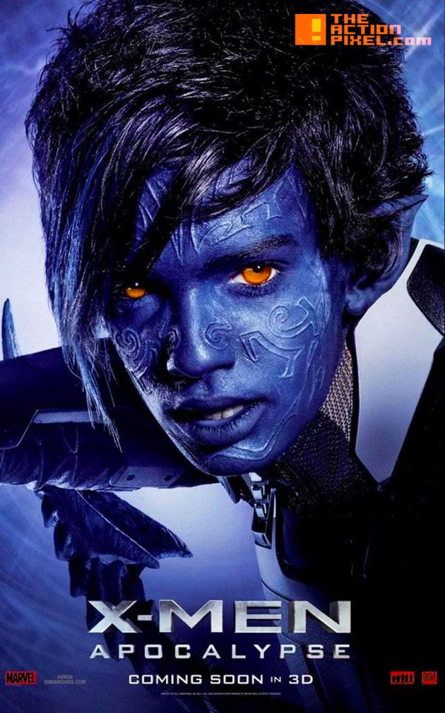 xmen apocalypse, 20th century fox, marvel, the action pixel, nightcrawler, entertainment on tap,