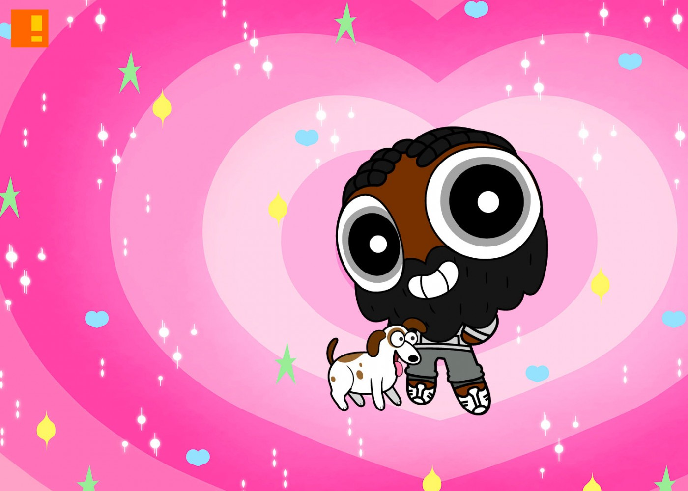 powerpuff yourself. the action pixel. entertainment on tap.
