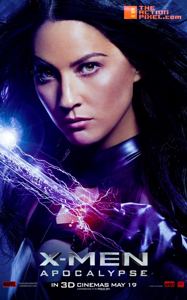 xmen apocalypse, 20th century fox, marvel, the action pixel, psylocke, entertainment on tap,