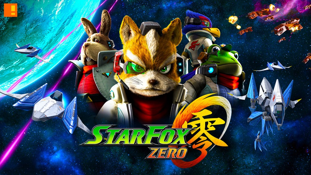 star fox zero, nintendo, wiiu, the action pixel, @theactionpixel, foxy fox, trailer,