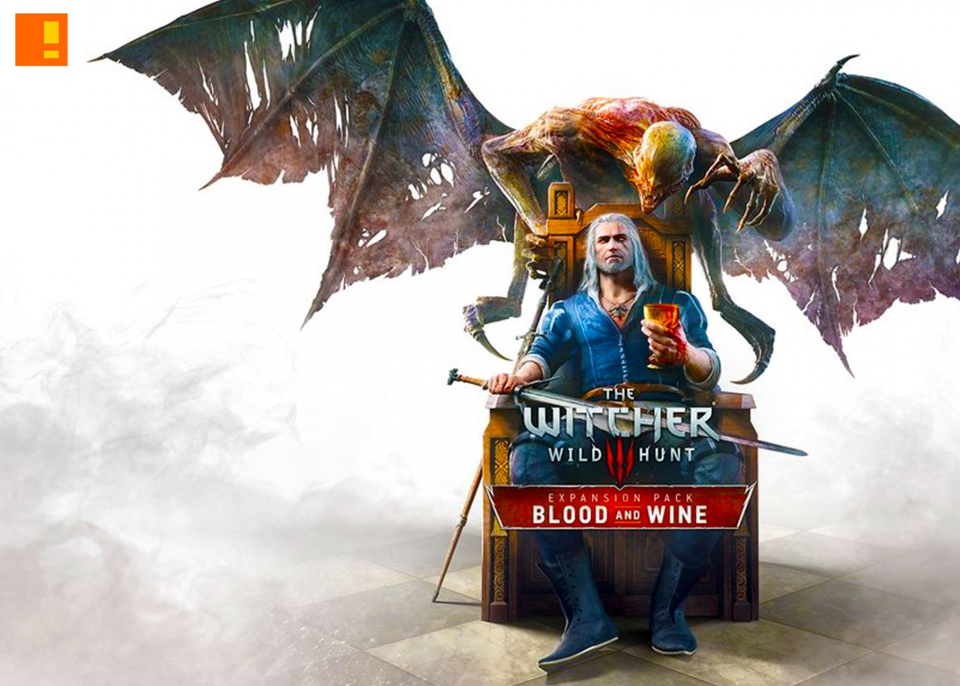the witcher 3, wild hunt,blood and wine, dlc, cover art, expansion pack, downloadable content, cd projekt red, cpr,geralt, key art,