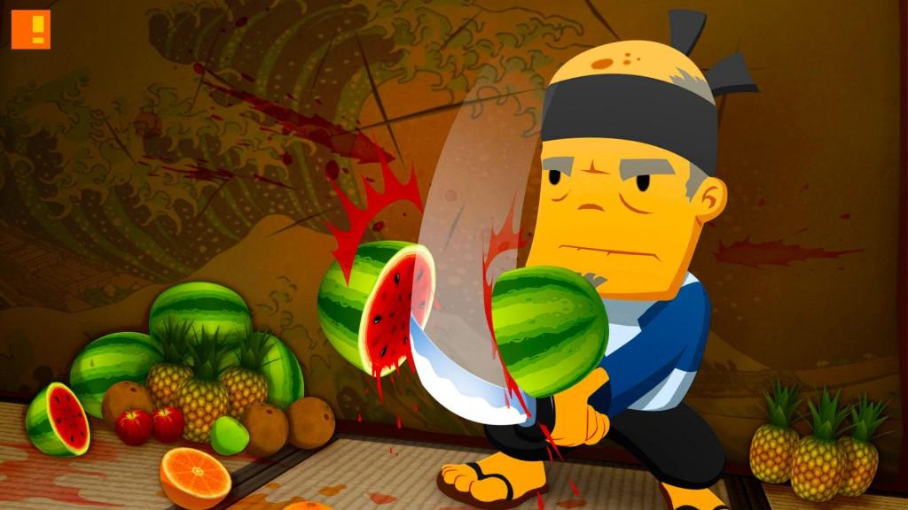 fruit ninja,  J.P. Lavin,Chad Damiani,Tripp Vinson, mobile game, app