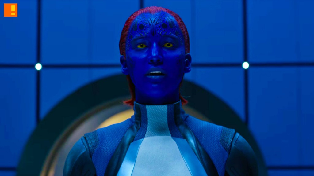 mystique, x-men apocalypse, x-men, xmen, power piece, marvel, 20th century fox, entertainment on tap, the action pixel
