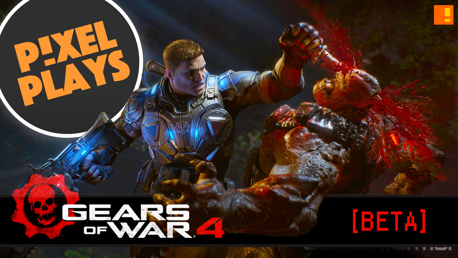 gears of war, beta, gears of war 4 beta, gears of war 4, gears 4, the coalition, epic games, let's play,pixel plays, the action pixel, amer iqbal, enterainment on tap, john rushton,