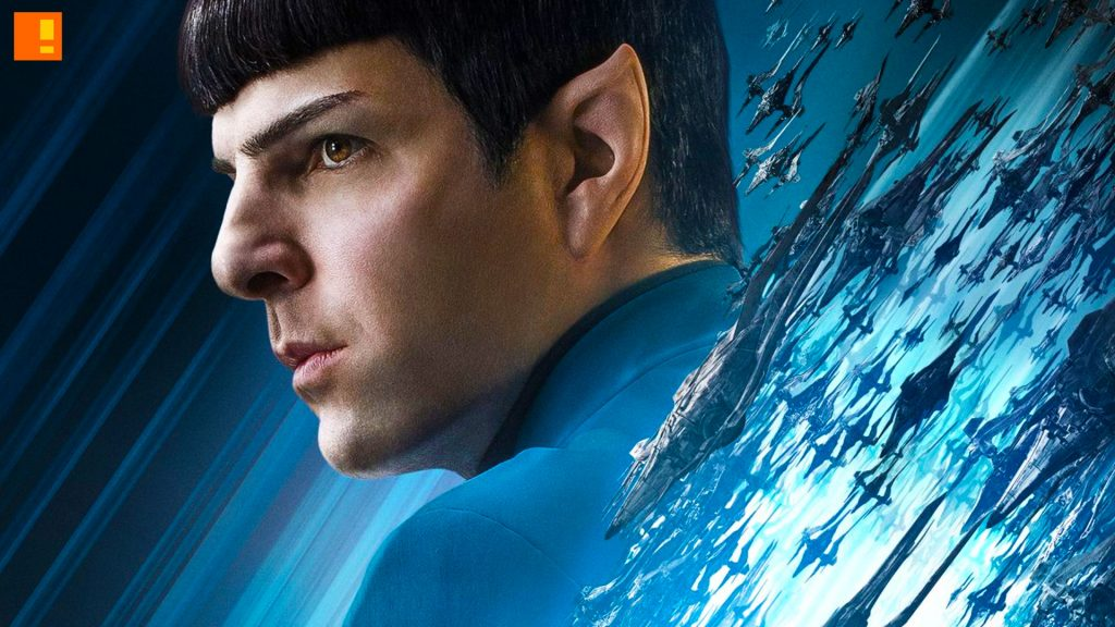 star trek, star trek beyond, beyond, enterprise, spock, scottie, vulcan, posters, character posters, the action pixel, entertainment on tap, kirk